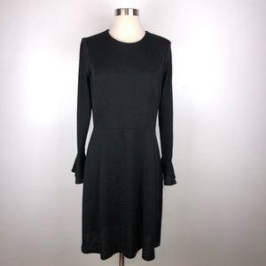 London Times Bell Sleeve Sheath Dress 10 EE3767